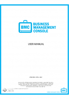 BUSINESS MANAGEMENT CONSOLE USER GUIDE